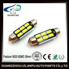Led Bulb 12V Festoon 5630 6SMD 39mm Led Panel Light Decorative Led Lights Led Festoon