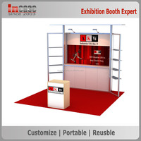 INCASE 10ft Portable Trade Show Booth Exhibit Display Stand