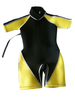shorty child neoprene surf wetsuits kids watersports suits baby shorty wetsuit WS52