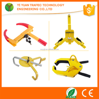 manual control high steel heavy duty alignment wheel clamp