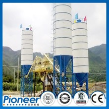 HZS75 Auto Skip Feeding Concrete Batching Plant for Sale