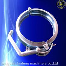 Costumbre china del metal abrazadera, metal clamp anillo, poste de metal soporte de abrazadera