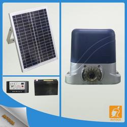 AC/DC electronic heavy duty solar sliding gate opener slliding gate operator