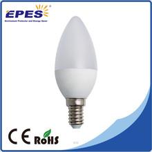 2015 Cost Effective C37 E27 E14 led candle light bulbs 5w 4W 3W led lamp