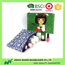 BSCI certificated ladies clutch bags with digital printing