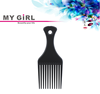 MY GIRL new arrival cheap styling hair comb durable pet detangling comb professional bulk hair lice bone comb