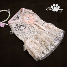 dog wedding dress wholesale with low MOQ