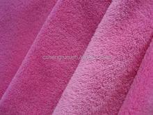 100% Polyester Coarl Fleece Fabric &Printed coral fleece