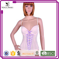 New Style Fitness Slimming Lace Up Shoulder Strap Sexy Corset