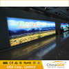 Backlit advertising aluminium extrusion fixture outside fabric light box