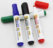 OEM printing and packing big barrel white board marker pen