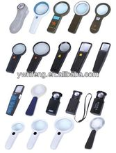2014 Promotion gifts pocket led magnifier/acrylic lens/magnifier canvas oil painting