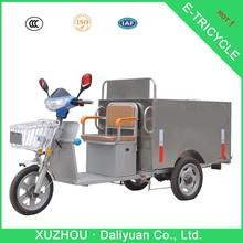 3 wheel electric bicycle 3 wheel motorcycle car for garbage