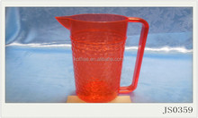 factory high quality cheap fancy free bpa plastic water cooler pitcher