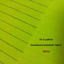 Hi-v modacrílicas amarelo/protex/kanearon tecido