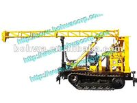 small core drilling rig on track base with capacity 100m