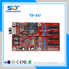SLT brand new design outdoor advertising RGB led display control card