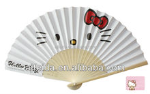 Logo Printed High Quality Paper Hand Fan