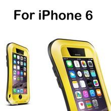 Art case phone for iPhone 6 whole body Drop/Shock/Waterproof Metal Aluminum Case
