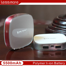 Corporate gift Mobile Power Bank 5000 mAh Portable charger External Battery Mobile Phone Charger