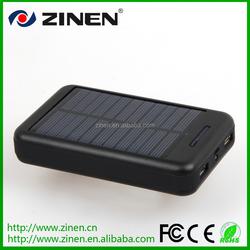 ZN-661 high capacity waterproof solar power bank 10000mah,solar panel power bank 10000mah