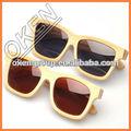 Vidrio s-4053 lentes ópticas gafas gafas de sol de madera