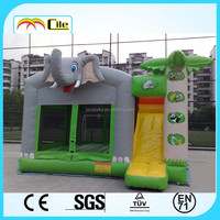 CILE Inflatable Elephant Bouncing Castle with Slide