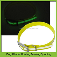 Glow in the Dark TPU Dog Pet Collar Charges in Light
