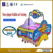 Comercial indoor pool table mini tournament air hockey table game for kids