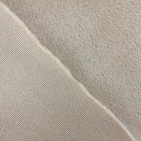 100D durable polyester fabric plain velvet for winter cloth lining