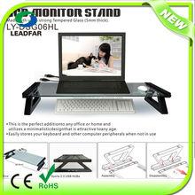 Elegant DIY practical detachable monitor stand with USB hub