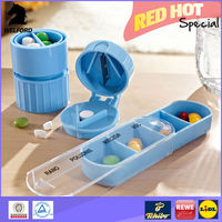 2014 Hot Selling HealthSmart Latex-Free Pill Cutter