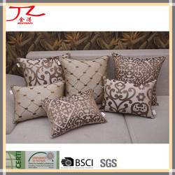 luxury european style sofa decorative embroidery hotel/home/family cushion / pillow cover
