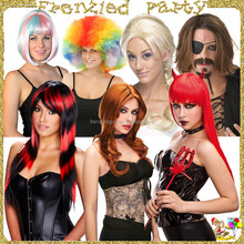 Halloween carnival party afro synthetic wig FGW-0001