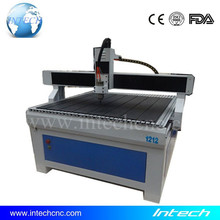 Chinese!! Advertising cnc router machine 1212 Intech cnc carving machine for marble granite stone