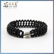 2014 New Style jewelry Black Spinel Wholesale Fashion bracelet