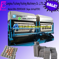 Hot sale ! double roller egg tray production line with six layer drying line