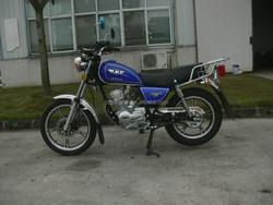 125cc 150cc classic Tanzania hot selling JY125-E straddle motorcycle