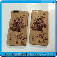 2015 New wood bamboo cell phone case for iphone 6 4.7 inch,for iphone case bamboo,for iphone 6 bamboo case