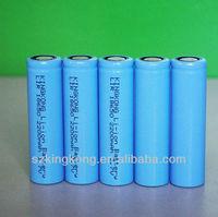 3.7 V li-ion rechargeable battery ICR18650 2200mah