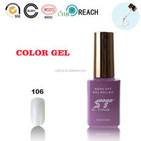 Pearl white Cheap gel nail polish uv gel in Pearl White color