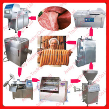 Meat Plant Application Automatic Stainless Steel Sausage Processer For Beef, Pork, Sheep, Chicken, Muslim, Russian Sausage