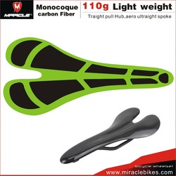MIRACLEBIKES Comfortable Bicycle Saddle / full carbon Bike Seat / custom MTB Bicycle saddle