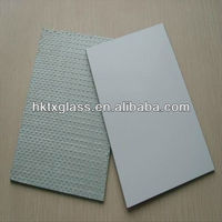 Vinyl backed mirror / Safety backed mirror with CE&UL Certificate