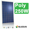 Bluesun good quality 250 poly solar panel with ISO CE TUV UL certificates