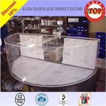 2015 special best selling long rectangle acrylic aquarium,aquarium plastic fish bowl