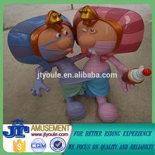 Parque de atracciones escultura de cerámica artistas JT-SD15
