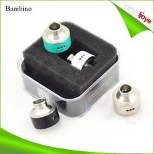electronic cigarette 3 post design 1:1 clone Bambino atomizer