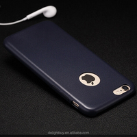 """Slim pu leather ultra thin Back Case Cover for Apple iPhone 6s / 6 4.7"""" Skin case pu silicon"""