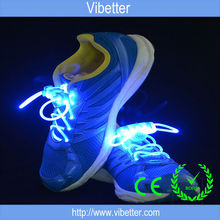 pair blister card pack fashion colorful flashing led shoelaces,light up shoelace,flashing shoelace